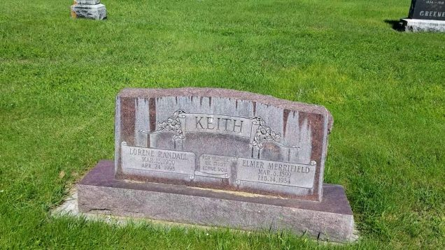 Elmer Merrifield Keith