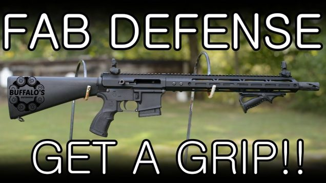 Fab Defense AGR-43 and PTK VTS Combo - GET A GRIP! 32