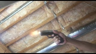 Firing off a live primer from failed factory ammo. (No bullet & no powder) 4