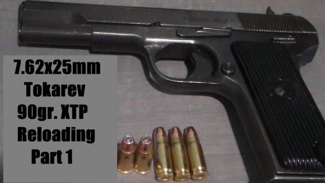 First Reloads for the 7.62x25mm Tokarev