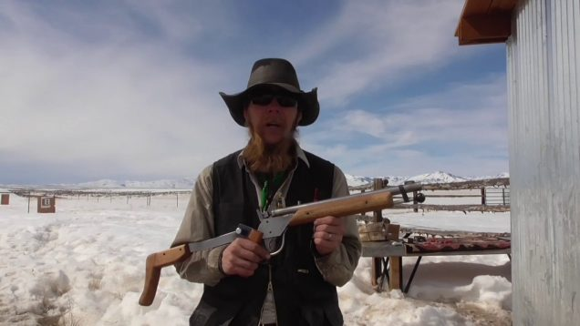 Folding Stock Muzzleloader – Second Prototype