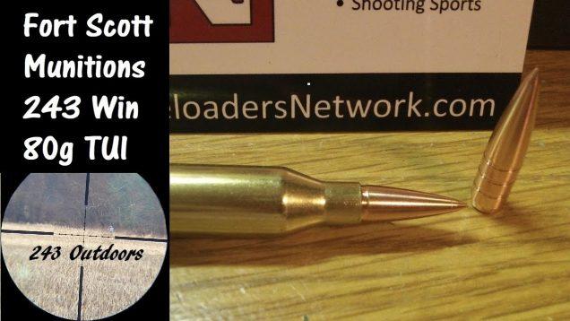 Fort Scott Munitions 243 Win 80g TUI