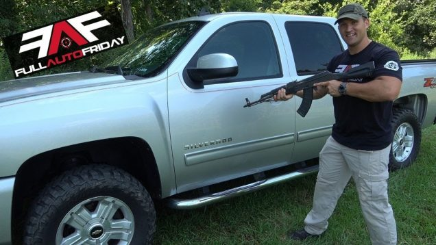 Full Auto Friday! AK-47 vs Car Door 🚗