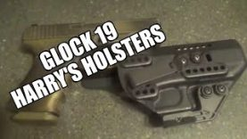 Glock 19 Harry's Holsters Review