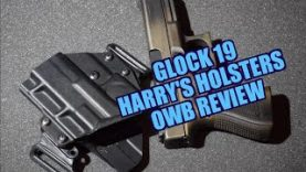 Harry's Holster Glock 19 OWB Review