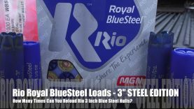 How Many Times Can You Load Rio 3 inch Hulls ? – STEEL EDITION