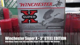 How Many Times Can You Load Winchester XPERT 3 inch STEEL Hulls ? – WATERFOWL EDITION!