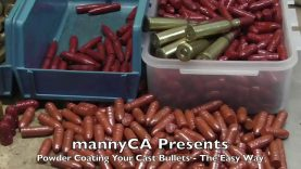 How to Powder Coat Cast Bullets – So Easy Even A Liberal Can Do It!