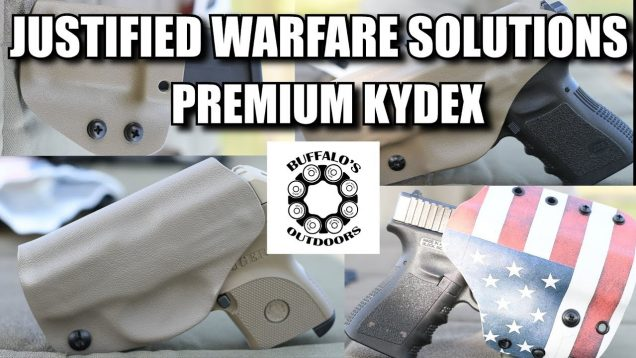 Kydex Holsters by Justified Warfare Solutions