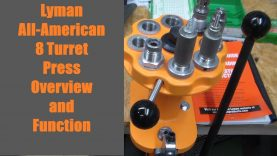 Lyman All American 8 Turret Press – Overview and Function