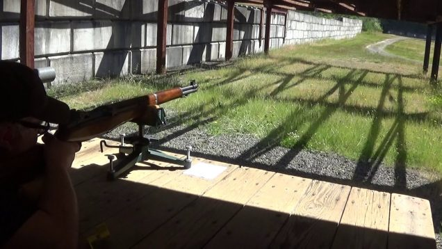 M-1 Garand with the 168 Nosler J-4 custom competition bullet