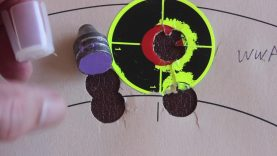 Moose Slugs Range Test 12 Gauge Results (3 Circles OPEN HOUSE ALL VIEWERS Video 49) 6