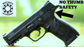 M&P 22 (FULL SIZE) Safety Delete – Clean Look