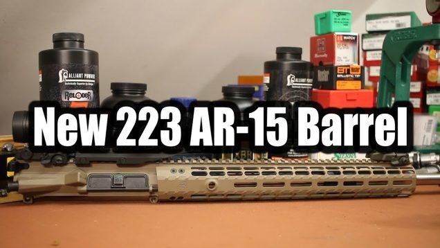 New 223 AR-15 Barrel 20
