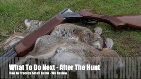 Now What? – How to Field Dress Small Game – Quick Tips