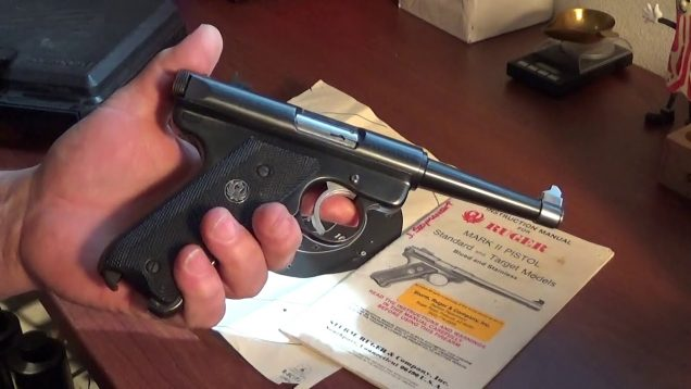 Out of the box, Ruger Mk-2.