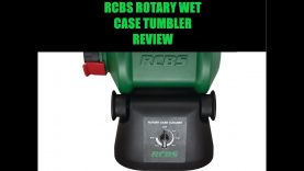 RCBS ROTARY WET CASE TUMBLER REVIEW