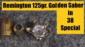 Remington 125 gr. Golden Saber in 38 Special
