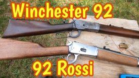 Rossi 92 45 Colt vs Winchester 1892 in 32 WCF