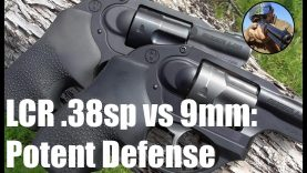 Ruger LCR – 38 special VS 9mm
