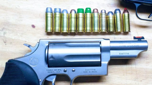 Testing Several Different 45LC Cast Bullets in the Taurus Judge