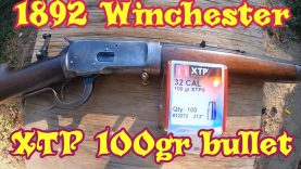 Testing some 100 gr XTP bullets in the 1892 Winchester 32WCF 6