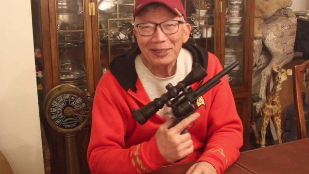 The UTG 2 - 7X Illuminated Handgun Scope And The Ruger Super Blackhawk At The Range 32