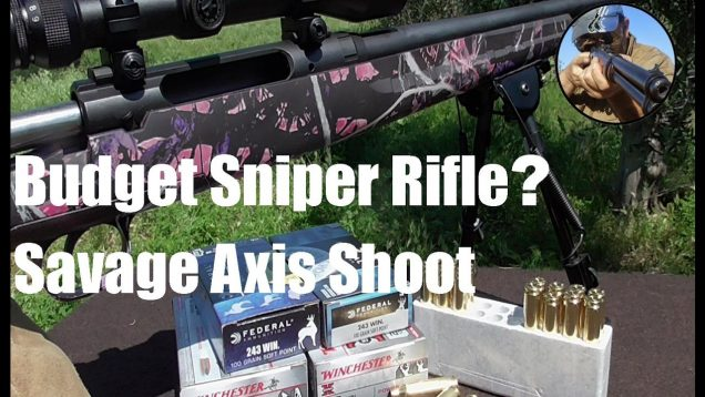 Top Affordable Bolt Guns? Savage Axis Review