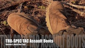 TRU-SPEC  TAC Assault Boots – These Boots Were Made for Walking!
