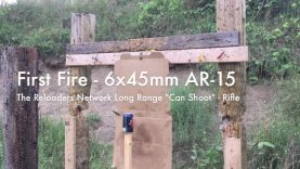 "WCChapin | First Fire – 6x45mm AR-15 TRN ""Can Shoot"" – Rifle"