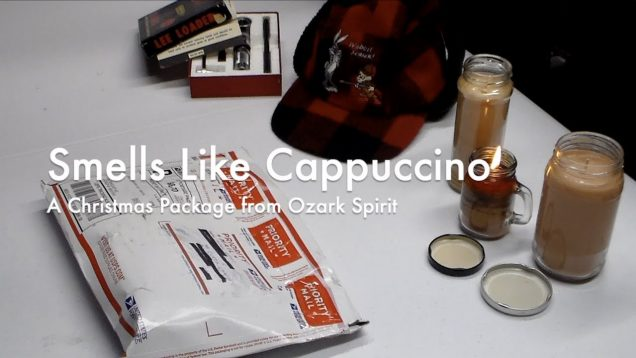 WCChapin | Smells Like Cappuccino - A Christmas Package from Ozark Spirit 33