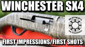 Winchester SX4 – First Impressions / First Shots