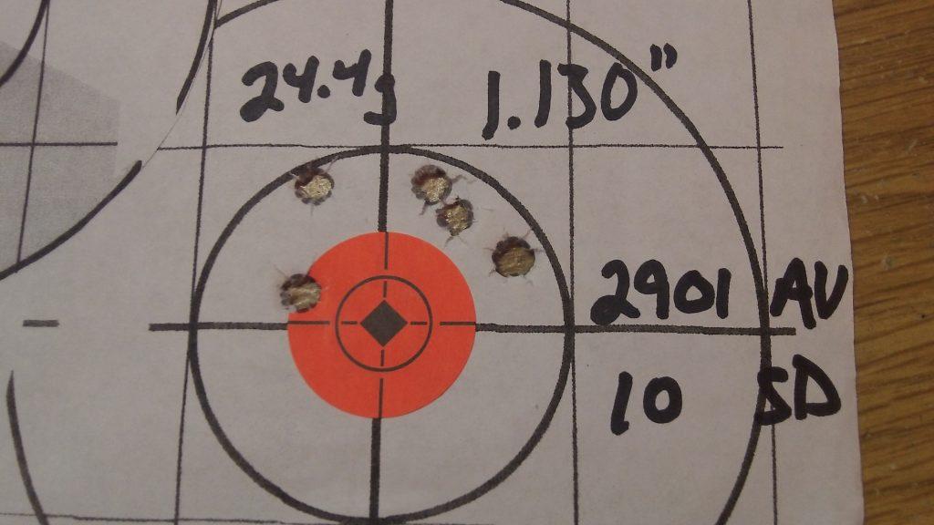 223 Rem; Ramshot TAC and Hornady 68g BTHP Match 13