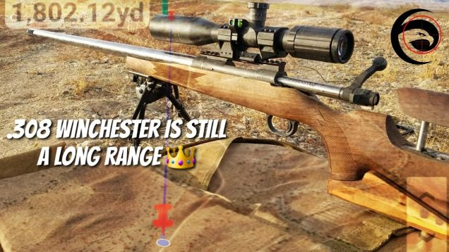 .308 Win is still a 👑King👑 – SHOOTING 1 MILE+!! with 168gr ELD