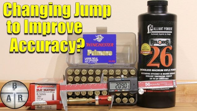 Adjusting Bullet Seating Depth – Improve accuracy with testing