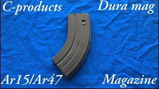 C Products AR15 7.62×39 mag (tabletop look)