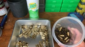 Cleaning brass with Lemi Shine & dish soap