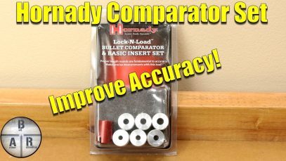 Hornady Lock-N-Load Comparator Body with Inserts – Increase your accuracy