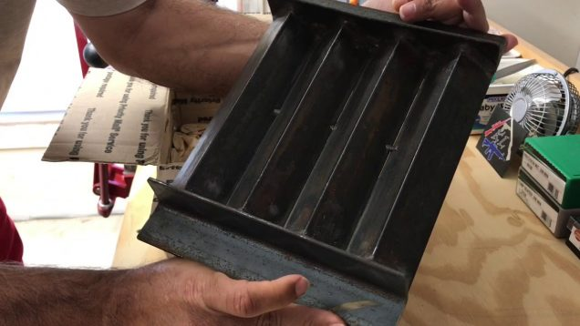 Ingot mold unboxing