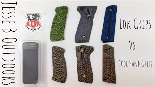 LOK Grips vs Cool Hand Grips
