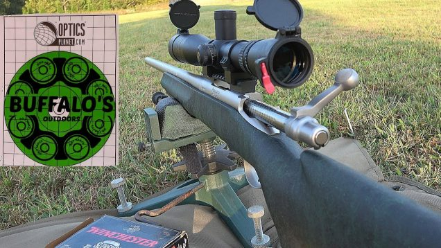 Sighting in a Remington 700 deer rifle