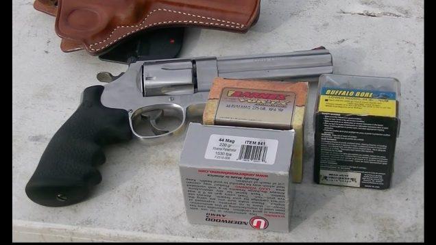 Smith and Wesson 629 Classic Ballistics