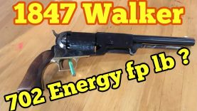 The True Power of the 1847 Colt Walker