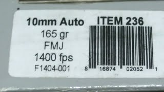 10mm Underwood 165gr FMJ Glock 29 vs. Glock 20 vs. Glock 40