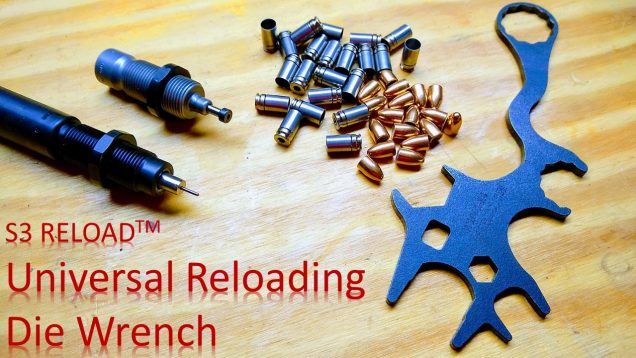 Reloading Die Wrench