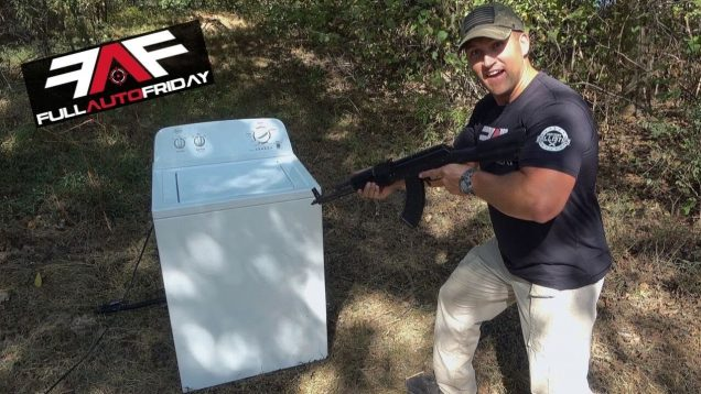 Full Auto Friday! AK-47 vs Washing Machine 🧼