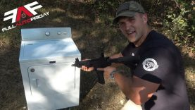 Full Auto Friday! AR-15 vs Dryer 🔥