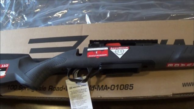 Savage 110 Tactical Un Boxing