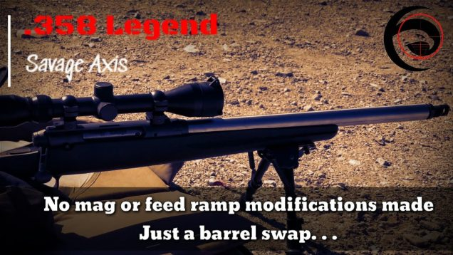 Savage Axis 358 Legend Build | Testing 200gr Hornady FTX