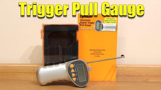 Trigger Pull Gauge – Lyman Electronic Trigger Pull Gauge